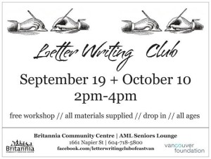letter writing club
