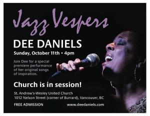 dee jazz vespers
