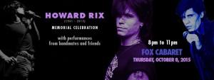 howard rix memorial oct 8