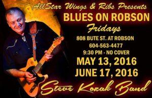 steve blues on robson