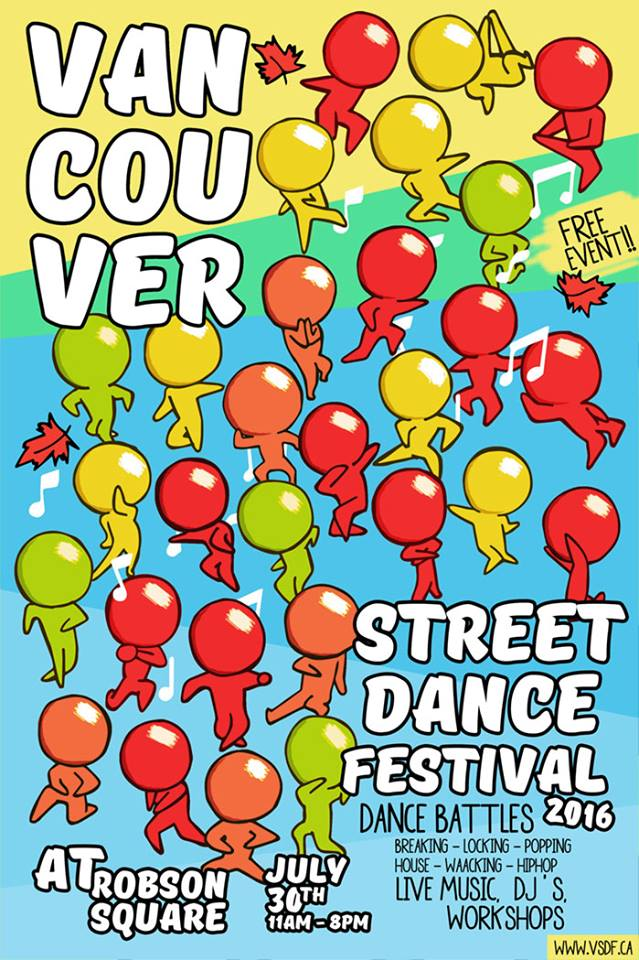 vancouver street dance